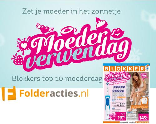 Blokker moederverwendag folderacties.nl