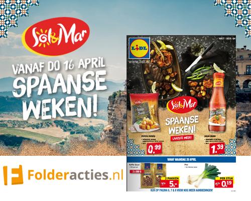 Lidl Spaanse weken folderacties.nl