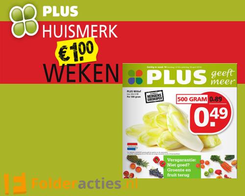 Plus huismerk weken folderacties.nl