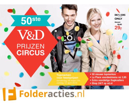V&D Prijzencircus folderacties.nl