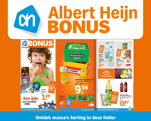 Albert Heijn Bonus folderacties.nl