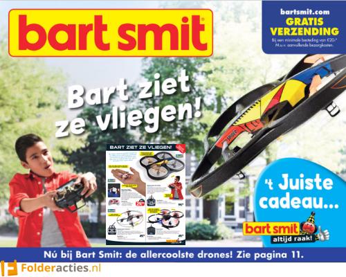 Bart Smit ziet ze vliegen folder folderacties.nl