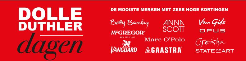 Dolle Duthler Dagen actie folderacties.nl