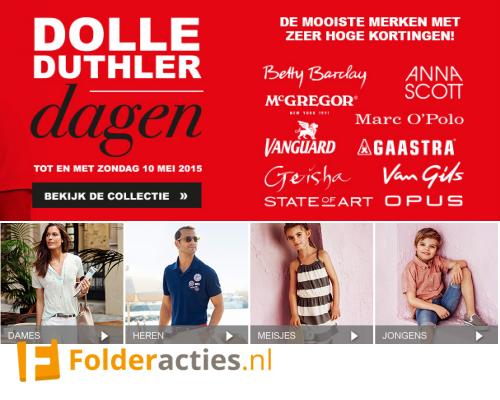 Dolle Duthler Dagen folderacties.nl