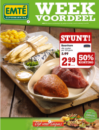 EMTÉ Week Voordeel folder folderacties.nl