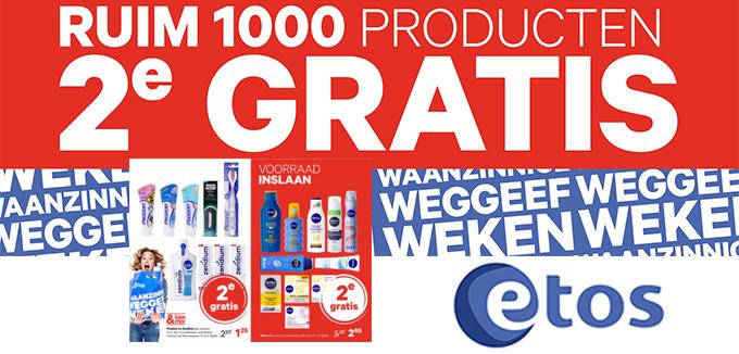 Etos Waanzinnige Weggeef weken Folderacties.nl