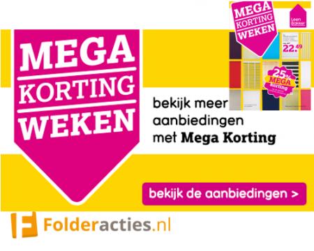 Leen Bakker Mega Korting weken folderacties.nl