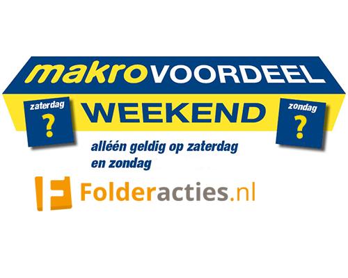 Makro voordeelweekend folderacties.nl