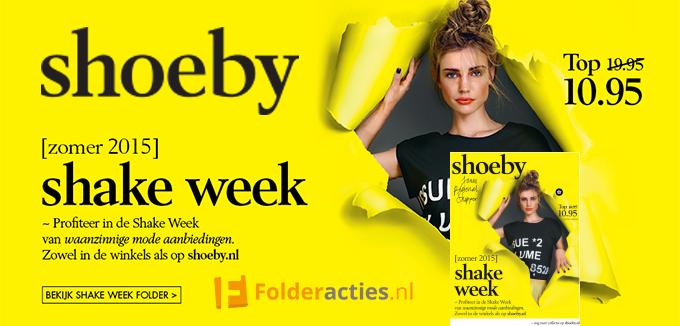 Shoeby Shake Week Folderacties.nl