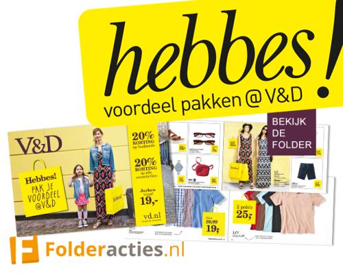 V&D Hebbes Folderacties.nl
