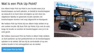 Albert Heijn pick up point