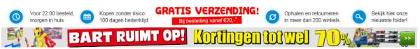 Bart Smit gratis verzending vanaf 20 Euro