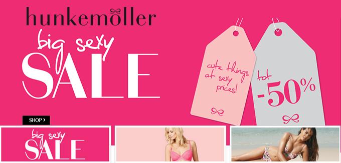 Hunkemoller Big Sexy Sale folderacties.nl