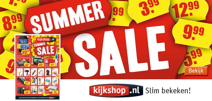 Kijkshop Summer Sale Folderacties.nl