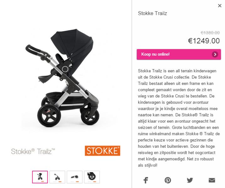 Stokke Trailz Prenatal