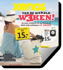 Xenos Van De Wereld Weken folder geldig t/m 19 juli 2015