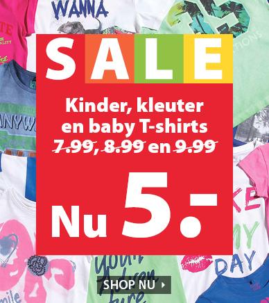 terStal kinderkleding en t-shirts voor €5,-