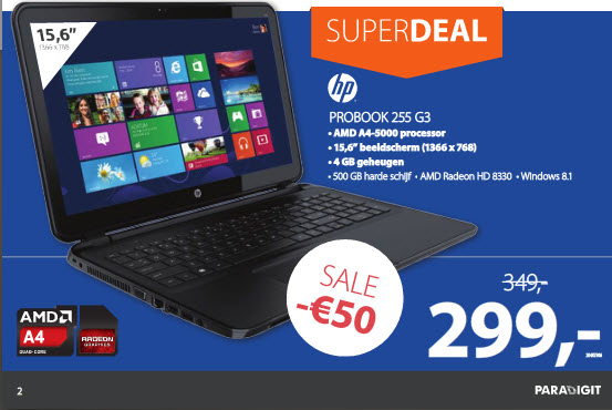 Paradigit HP Pro Super Deal