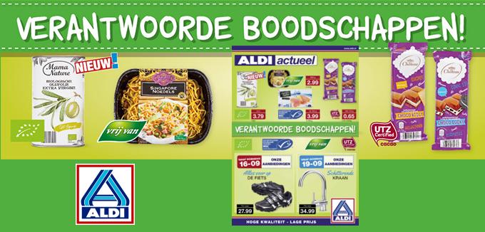 ALDI verantwoorde boodschappen folder folderacties.nl