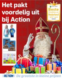 Action Sinterklaas folder 28 oktober t/m 5 december 2015