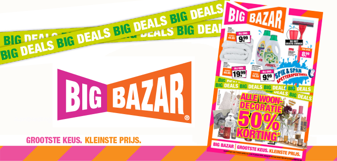 Big Bazar Big Deals folder folderacties.nl