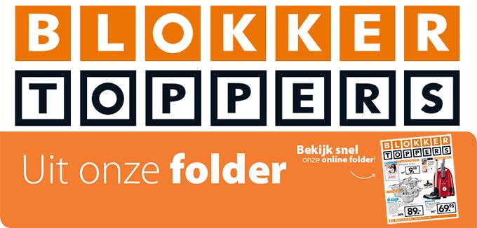 Blokker Toppers folder folderacties.nl
