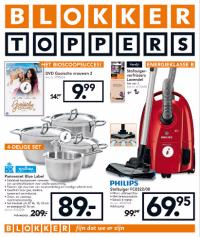Blokker Toppers folder geldig 10 tm 18 augustus 2015