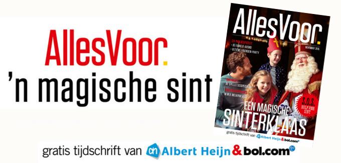 Bol.com & Albert Heijn Alles Voor Sinterklaas folderacties.nl