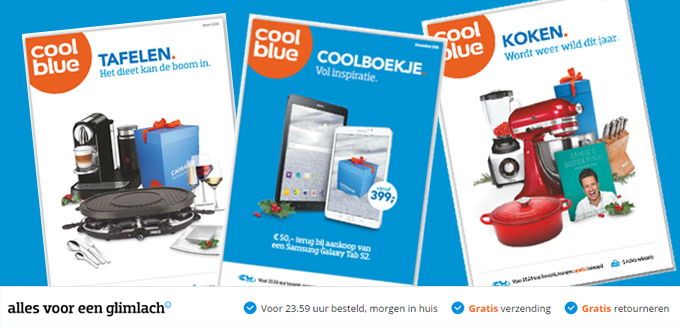 Coolblue folder en coolboekje folderacties.nl