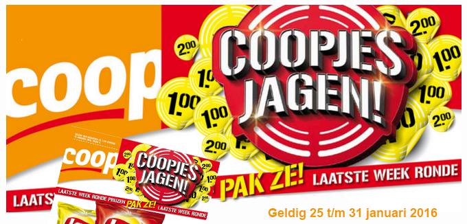 Coop Coopjesjagen folderacties.nl