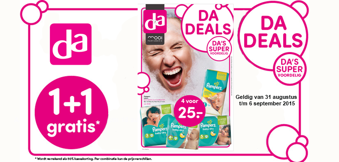DA DEALS folder folderacties.nl