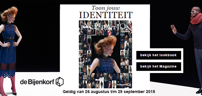 De Bijenkorf Inspiration magazine folderacties.nl