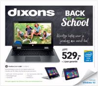 Dixons Back to School folder 17 juli t/m 2 augustus 2015