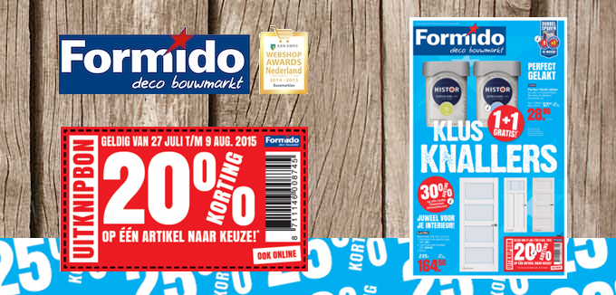 Formido Klus Knallers folderacties.nl