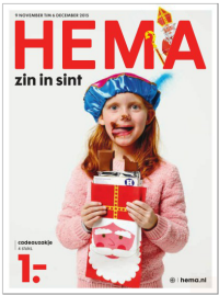 HEMA Sinterklaas folder 9 nov t/m 6 dec 2015