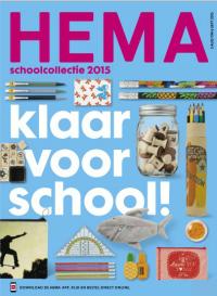 HEMA klaar voor school folder geldig tm 6 september