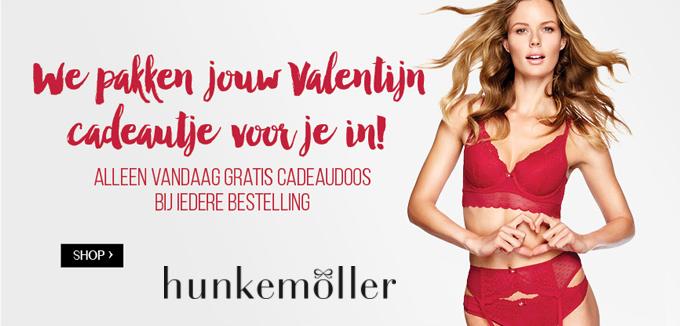 Hunkemoller Valentijnsfolder folderacties.nl