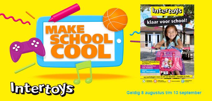 Intertoys Klaar voor School folderacties.nl