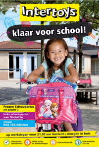 Intertoys klaar voor school 13 aug tm 8 sept 2015