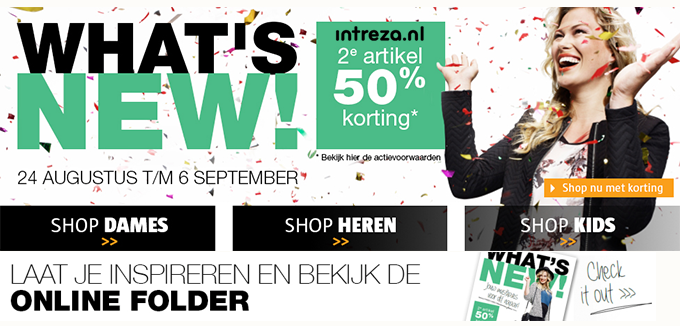 Intreza Whatsnew folder folderacties.nl