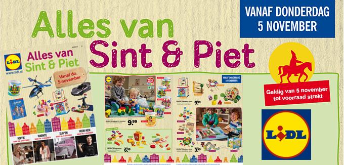 Lidl Sint en Piet folder folderacties.nl