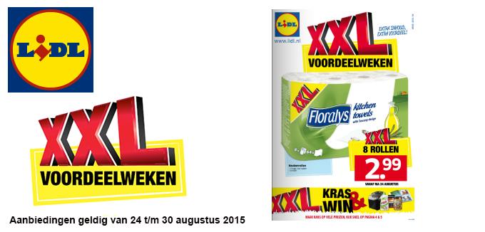 Lidl XXL Voordeelweken folder folderacties.nl
