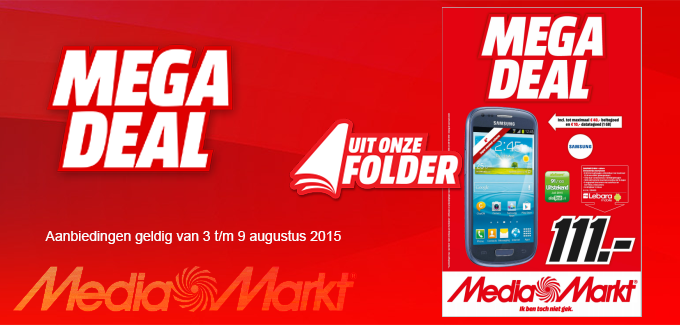 Media Mark Mega Deal folder folderacties.nl