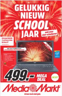 Media Markt folder 10 tm 16 augustus 2015