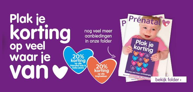 Prenatal Plak je korting folderacties.nl