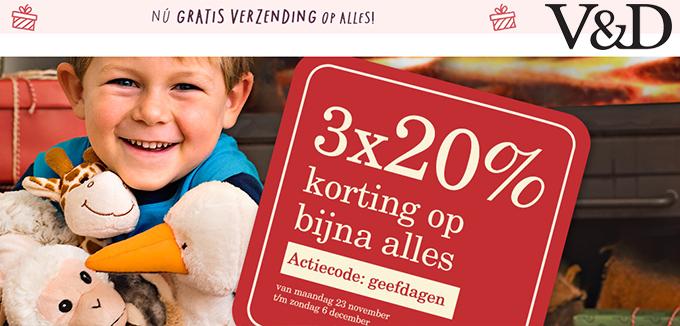 VD Prettige Geefdagen folderacties.nl