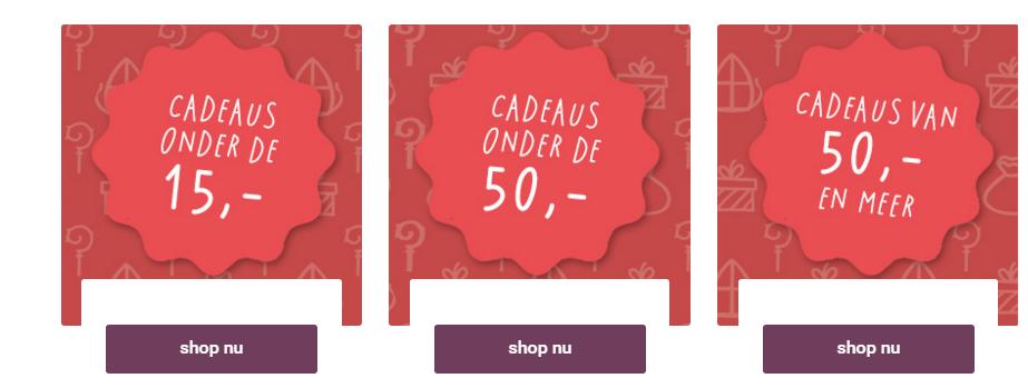V&D Sinterklaas cadeaus