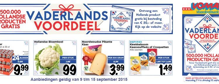 Vomar Vaderlands Voordeel folder folderacties.nl